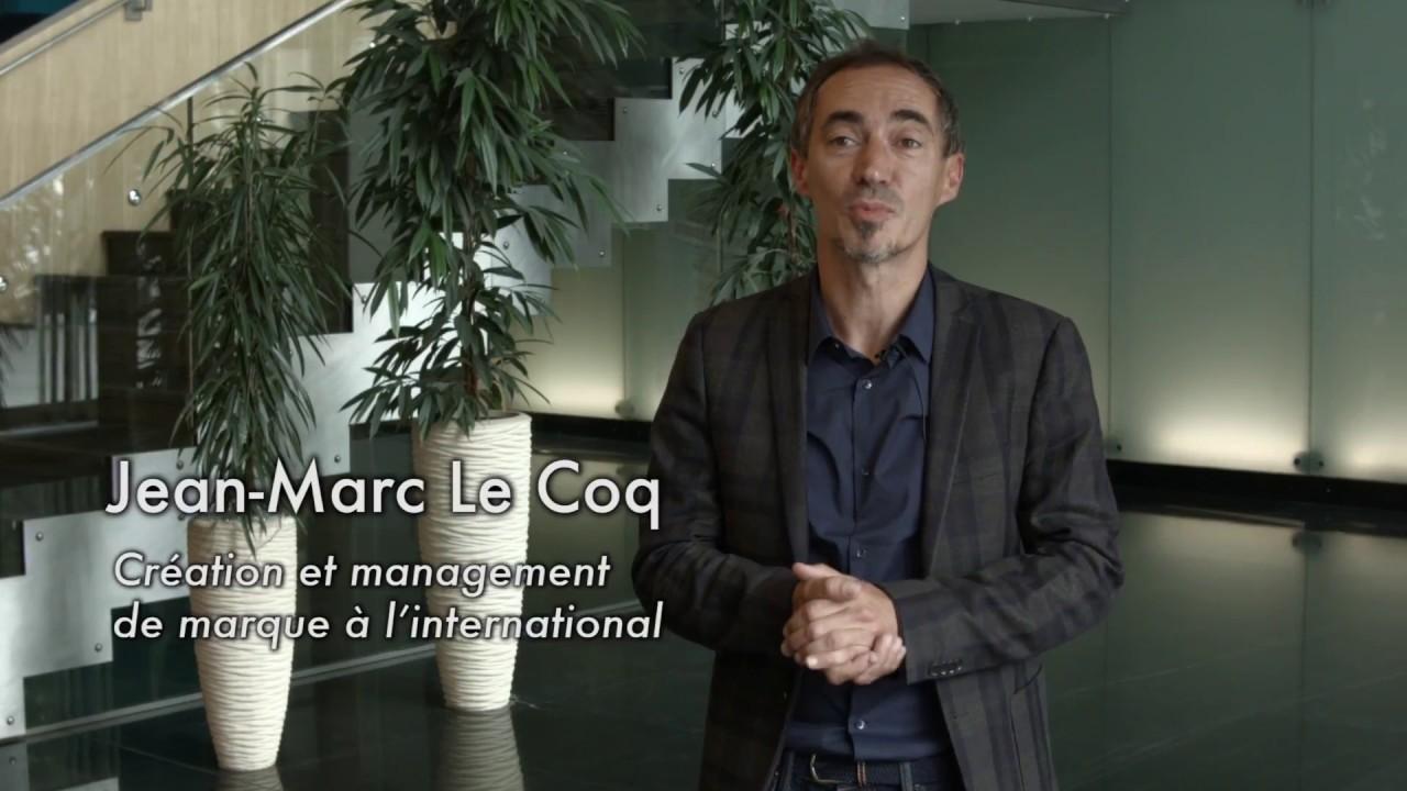 Jean-Marc LE COQ, Création et management de marque à l'international