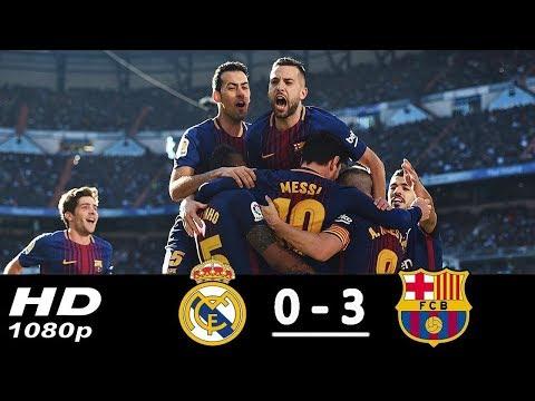 Real Madrid vs Barcelona 0-3 ● All Goals & Highlights HD ● 23 Dec 2017 ● La Liga