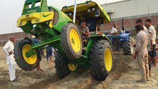 John Deere 5310 vs Sonalika 60 tractor tochan kurar (panipat)