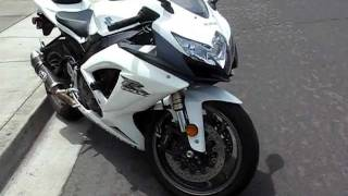 4. 2009 Suzuki GSXR-600 K9 with Termignoni Exhaust