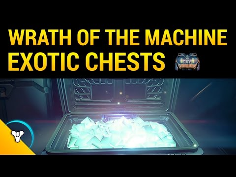 wrath of the machine chests