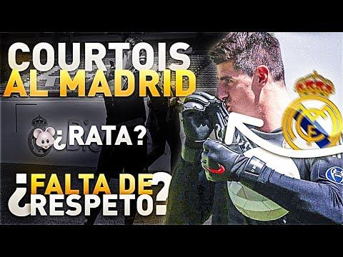 MI OPINION sobre COURTOIS, su ACTITUD y su FICHAJE por el REAL MADRID