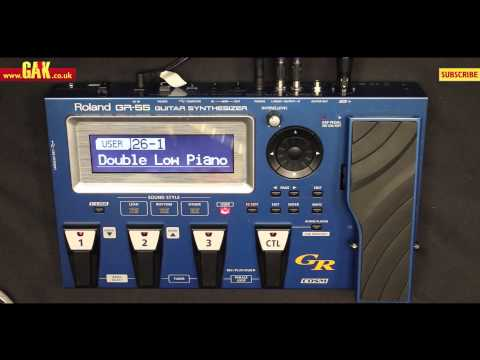 roland - Subscribe to GAK Vision for daily video demos and features - http://www.youtube.com/subscription_center?add_user=GAKVision Watch this video in my Guitars pla...