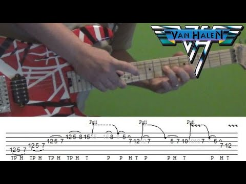 Guitar Lesson - You're No Good (Van Halen) solo with Tabs!
