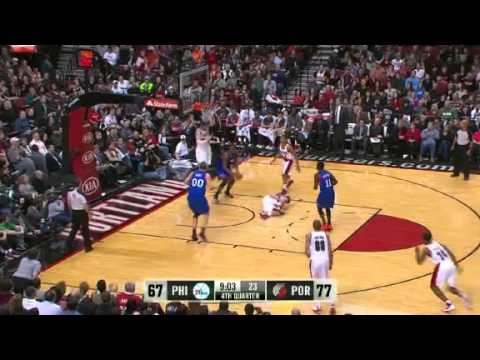 Philadelphia Sixers 85 – Portland Trail Blazers 89