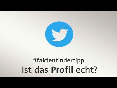 Tutorial: Ist das Twitter-Profil echt?