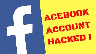 Facebook Account Hacked, Recover Facebook Account