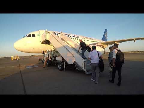 Air Astana to Almaty