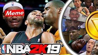 NBA 2K19 Wheel of Memes