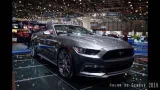 Genève 2014 - Ford Mustang GT 2015 - Coupé&Cabriolet