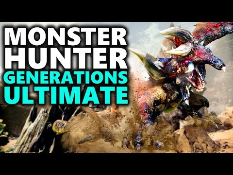 MONSTER HUNTER GENERATIONS ULTIMATE | Monster Hunter for Nintendo Switch