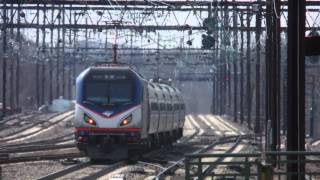 Rahway (NJ) United States  City pictures : Amtrak & New Jersey Transit Action on the Northeast Corridor @ Rahway Station