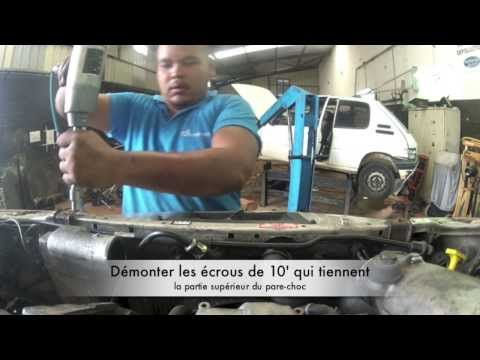 comment demonter pare choc avant opel astra h