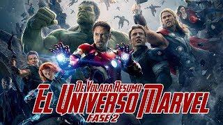 De Volada Resumo El Universo Cinematográfico de Marvel (Fase 2)