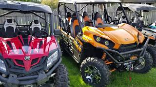 "6. 2019 Kawasaki Teryx4 Detailed Walk Around. Newest addition to my ""garage""!"
