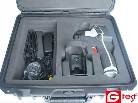 Видео Сверхчувствительный тепловизор с функцией видеозаписи СЕМ DT-9875