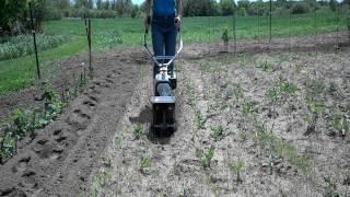 8. Stihl Yard Boss Cultivating the Garden