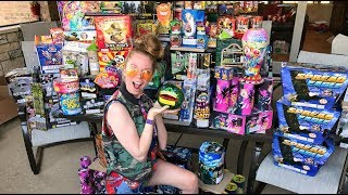 ➡ SUBSCRIBE TO MY 2ND CHANNEL! - http://bit.ly/2hsXpQdTHANK YOU http://www.76fireworks.com for the fireworks!2016: https://www.youtube.com/watch?v=f_0sQ3w_WZk2015: https://www.youtube.com/watch?v=Opj6BFUQnhM2014: https://www.youtube.com/watch?v=gMJbflezWyc➡ ADD ME ON SNAPCHAT: BM885♡ SUBSCRIBE! http://bit.ly/1huTwmg ♡all these fidget spinners were ordered from wish!_ _ _ _ _ _ _ _ _ _ _ _ _ _ _ _ _ _ _ _ _ _ _ _ _ _ _ _ _ _ _ _ _ _♡ SWAMP QUEEN LIPPIES: http://bit.ly/2fNpVbp♡ SWAMP QUEEN PALETTE: http://bit.ly/22yG864♡ INSTAGRAM: http://bit.ly/1wdGBwS  ♡ TWITTER: http://twitter.com/grav3yardgirl♡ FACEBOOK: http://bit.ly/2ktztLn_ _ _ _ _ _ _ _ _ _ _ _ _ _ _ _ _ _ _ _ _ _ _ _ _ _ _ _ _ _ _ _ _ _WANNA SEND ME MAIL?  SEND IT HERE!:GRAV3YARDGIRLPO BOX #2263PEARLAND, TEXAS77588♡ EVERYTIME YOU SUBSCRIBE, A GATOR GETS HIS WINGS! ♡FTC- I am not being paid by any of the mentioned companies or designers to make this video. The views in this video are strictly my own and I am not affiliated with any of these companies.