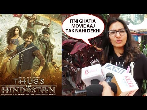 Thugs Of Hindostan Public Review | First Day First Show | Aamir Khan, Amitabh Bachchan