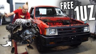 Download Lagu Acquired a FREE 1UZ V8 for the Drift Truck! Mp3