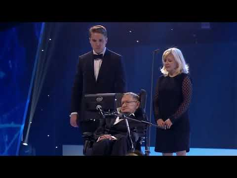 Stephen Hawking's Last Speech