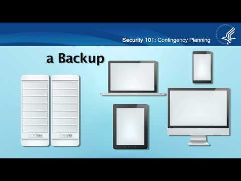 Security 101: Contingency Planning