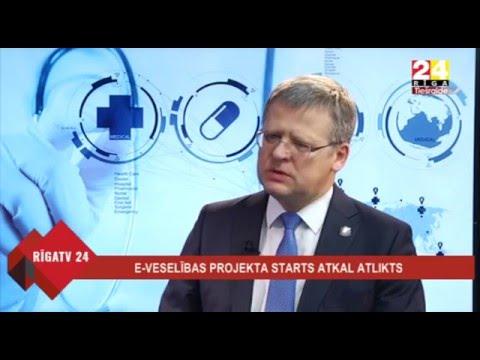 """Veselības ministra Dr. Gunta Belēviča intervija Rīga TV24 raidījumā """"Dienas personība"""""""