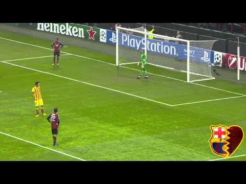 Milan - Barcelona Highlights HD 22.10.2013