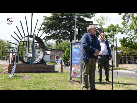 Inauguraron monumento en homenaje al Mate