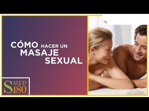 ¿Cómo hacer un masaje sexual a tu pareja?