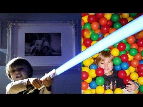 Indoor Playground Fun – Star Wars Force FX Lightsaber Blue