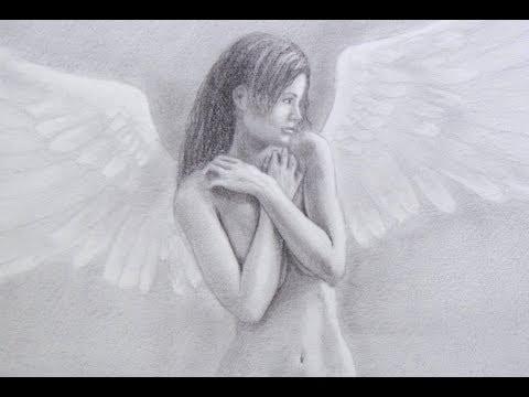 Cómo dibujar un ángel realista - Aprender a dibujar