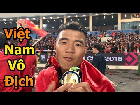 Thử Thách Bóng Đá ăn mừng cùng Quang Hải , Hà Đức Chinh , Đặng Văn Lâm  ĐT Việt Nam vô địch AFF CUP - Thời lượng: 5:23.