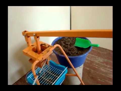 Станок для производство брикетов своими руками