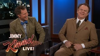 Video Will Ferrell & John C. Reilly on Their Friendship & Living in England MP3, 3GP, MP4, WEBM, AVI, FLV Desember 2018