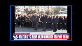 Atatürk 76 Ölüm Yıldönümünde Zeytinburnu'nda Anıldı
