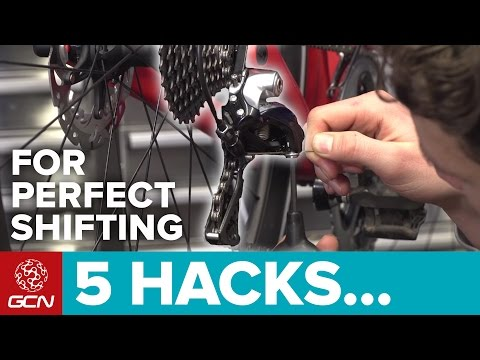 5 Hacks For Perfect Shifting On Your Road Bike