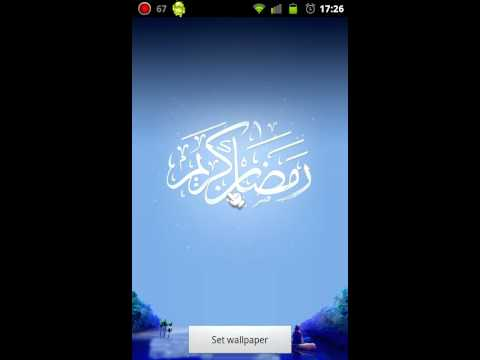 Video of Ramadan Live wallpaper