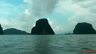 Thailand - Part 11/15 - James Bond Island, Phuket  - Travel Video HD-Omnia Turism