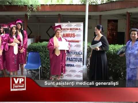 Sunt asistenţi medicali generalişti