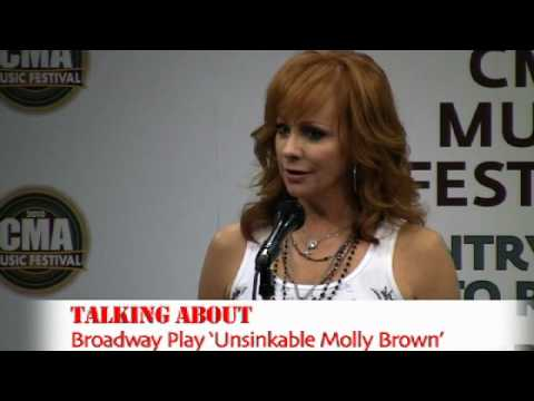 Reba Interview Backstage at CMA Fest