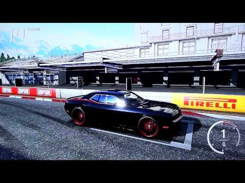 february ALMS pack - Dodge Quinton Rampage Jackson Challenger SRT8 (February ALMS Car Pack) - Forza 4 (HD)