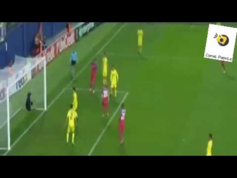 Vlad Achim Goal FC Steaua Bucuresti vs Villarreal 1 - 1 2016