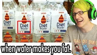 the DUMBEST inventions EVER! - DIET WATER!?