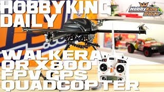 1HobbyKing Daily - Walkera QR X800 Quadcopter
