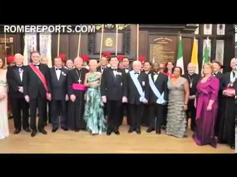 Ordine Constantiniano 2012 – Rome Reports TV News – Il ruolo della fede nel 2012 – I Giochi Paraolimpici e l'Ordine Costantiniano