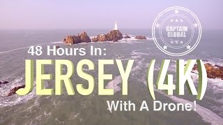 Jersey United Kingdom  City new picture : Jersey From Above by Drone (UHD, 4K Aerial footage)