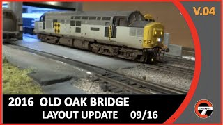 DCC-00 Gauge Layout update, An introduction and layout update, followed by a train running session.Based with the memories around south Acton & Old Oak Common during the BR era,