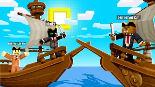 We Are Becoming Pirates In Camp Minecraft | JeromeASF