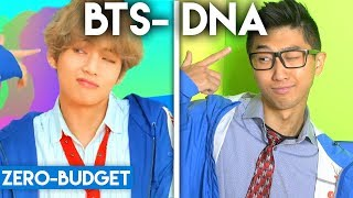 Download Lagu K-POP WITH ZERO BUDGET! (BTS- DNA) Mp3